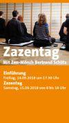 Flyer zum Zazentag am 15.09.2018