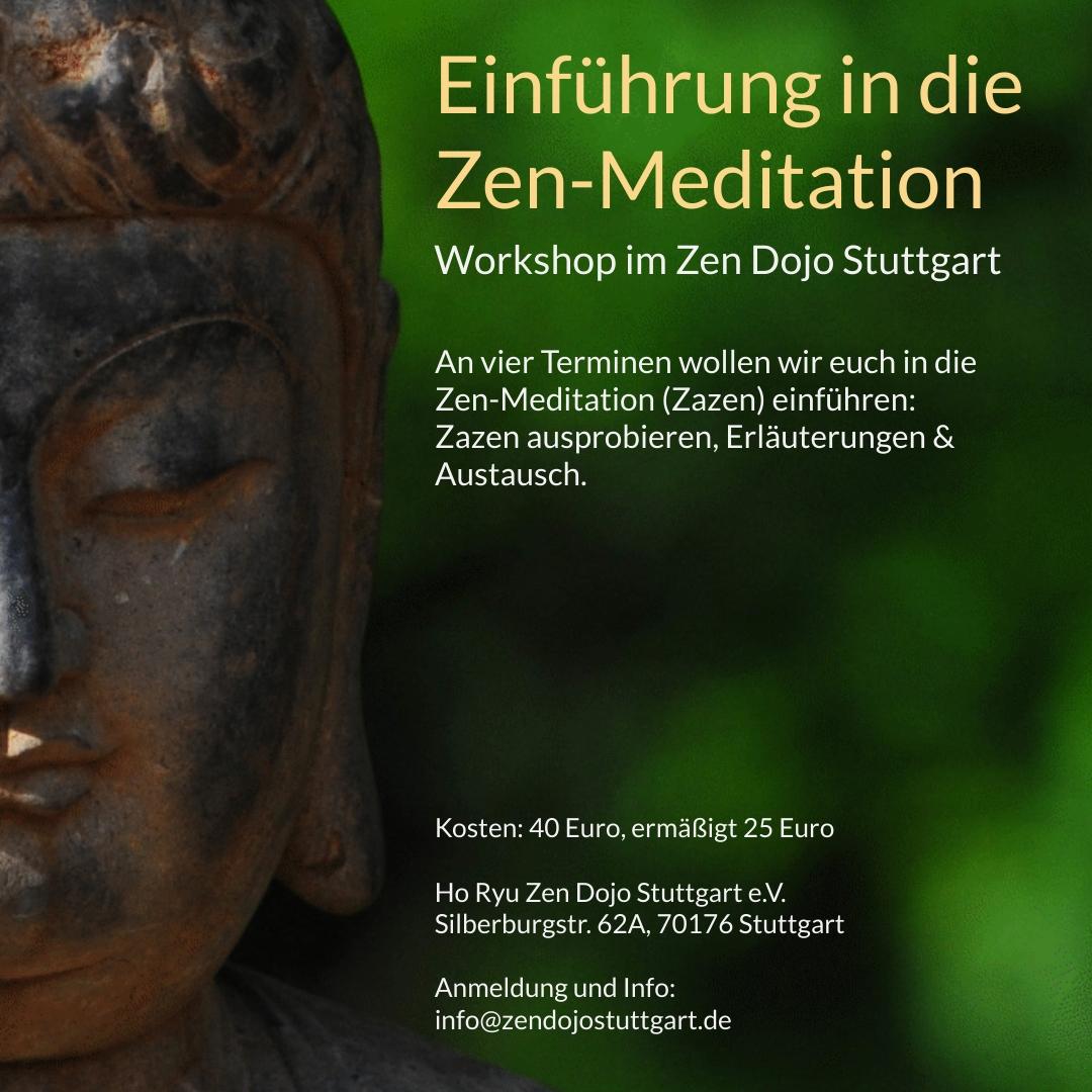Einführung in die Zen-Meditation